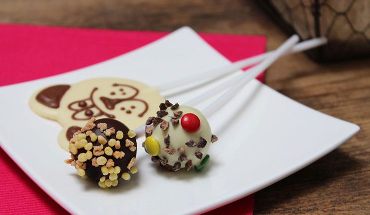 Viba Workshops für Kinder - Lollipop aus Schokolade und Nougat